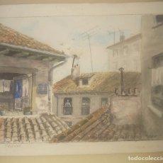 Arte: RODRIGUEZ PESCADOR TEJDOS ACUARELA .. Lote 173960194
