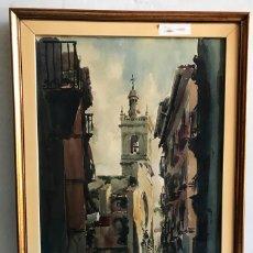 Arte: ACUARELA DE PAISAJE FIRMADA POR RAFAEL SEMPERE . Lote 174529844