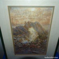 Arte: ACUARELA FIRMADA H C.ENMARCADA EN EBURY DE LONDON.BUEN TRAZO.GRAN DOMINIO DE LA LUZ.. Lote 175466148