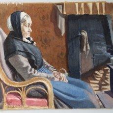 Arte: ACUARELA DE G. NAGEL, 1917. Lote 175502915