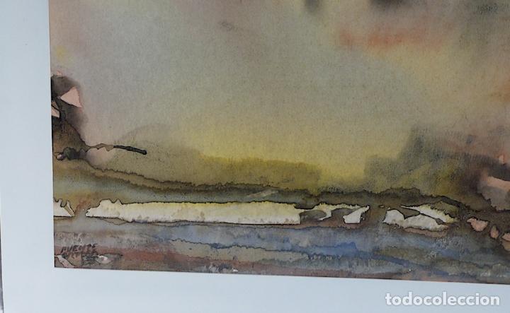 Arte: PUENTE ORTEGA, ACUARELA S/PAPEL FIRMADA - Foto 2 - 175602562