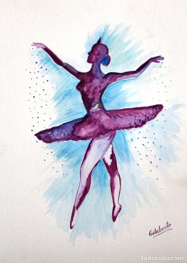 Arte: Bailarina obra de Gilaberte - Foto 2 - 175964303