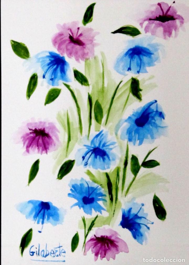 Arte: Flores obra de Gilaberte - Foto 2 - 175964712