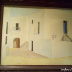 Arte: ANTIGUA ACUARELA FIRMADA P.ULLÉS AÑO 1922. Lote 176217498