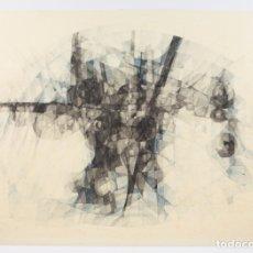 Arte: JOAN CLARET, DIBUJO TÉCNICA MIXTA, 1967, FORMAS GEOMÉTRICAS, LÁPIZ Y ACUARELA, FIRMADO Y FECHADO.. Lote 176253825