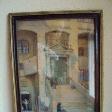 Arte: (PINT-190900)ACUARELA DEL PINTOR CONSTUMBRISTA ESCENAS ESPAÑOLAS J.B.WILKINSON 16-4-1923. Lote 176340292