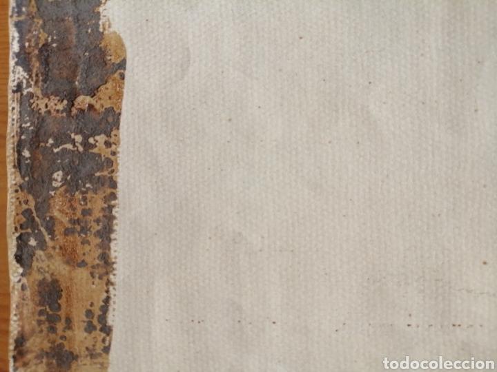 Arte: Extraordinaria tempera y acuarela sobre cartón. Proyecto para vidriera. - Foto 16 - 176414278