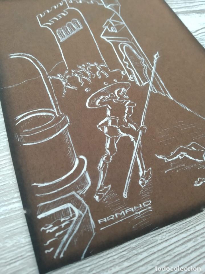 Arte: La pintura de Don Quijote de la Mancha de 1860 - Foto 2 - 176587113