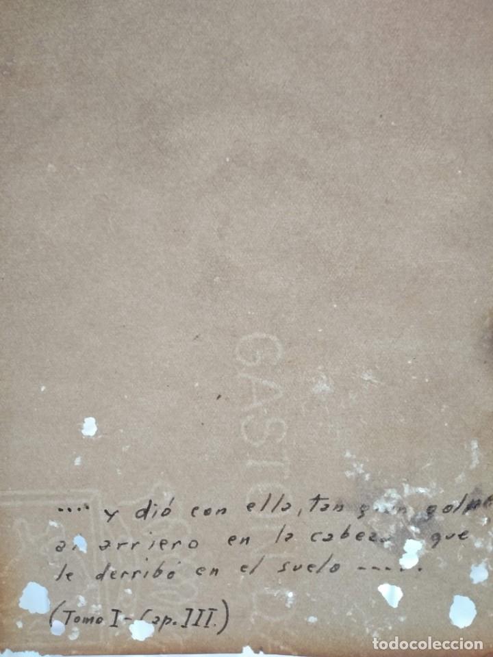 Arte: La pintura de Don Quijote de la Mancha de 1860 - Foto 4 - 176587113