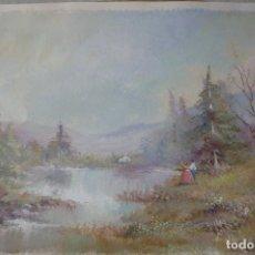 Arte: ACUARELA FIRMADO SOTO. Lote 176996643