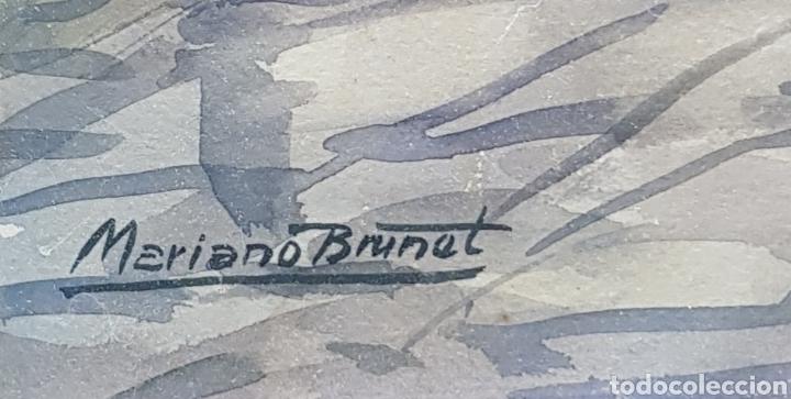 Arte: Acuarela Mariano Brunet - Foto 2 - 177272584