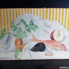 Arte: ACUARELA DE MERCÈ VILA. Lote 177508915