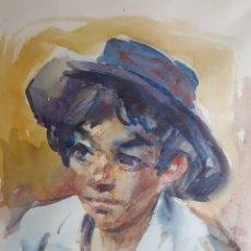 Arte: NIÑO POR GEORGE STEEL. Lote 177778223