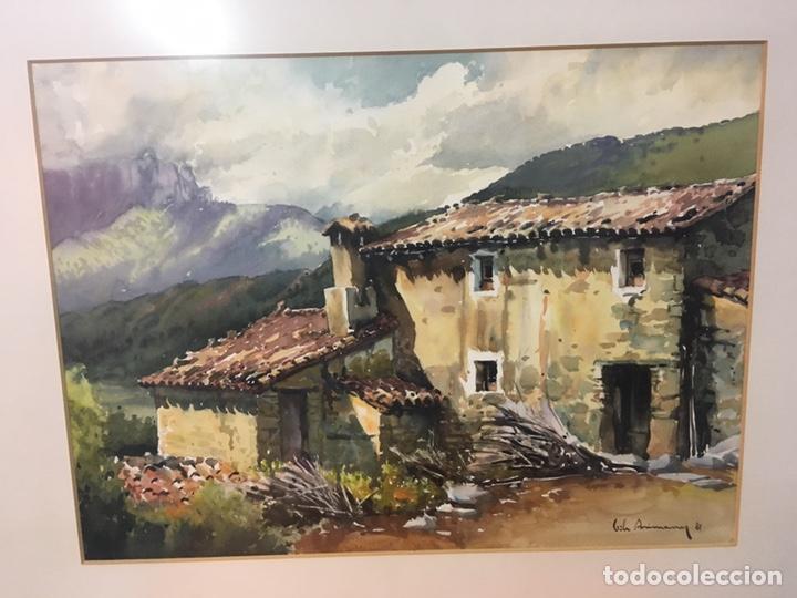 Arte: Acuarela firmada por Joan Vila Arimany - Foto 3 - 177800623