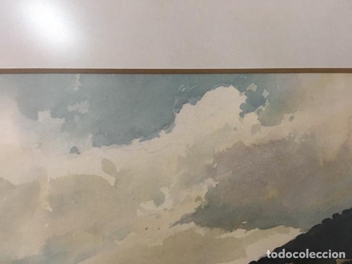 Arte: Acuarela firmada por Joan Vila Arimany - Foto 7 - 177800623