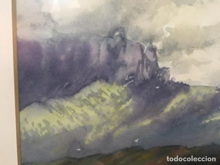 Arte: Acuarela firmada por Joan Vila Arimany - Foto 9 - 177800623