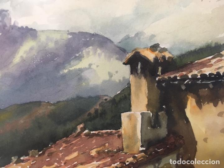 Arte: Acuarela firmada por Joan Vila Arimany - Foto 10 - 177800623