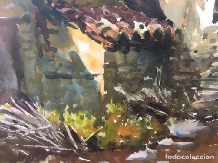 Arte: Acuarela firmada por Joan Vila Arimany - Foto 15 - 177800623