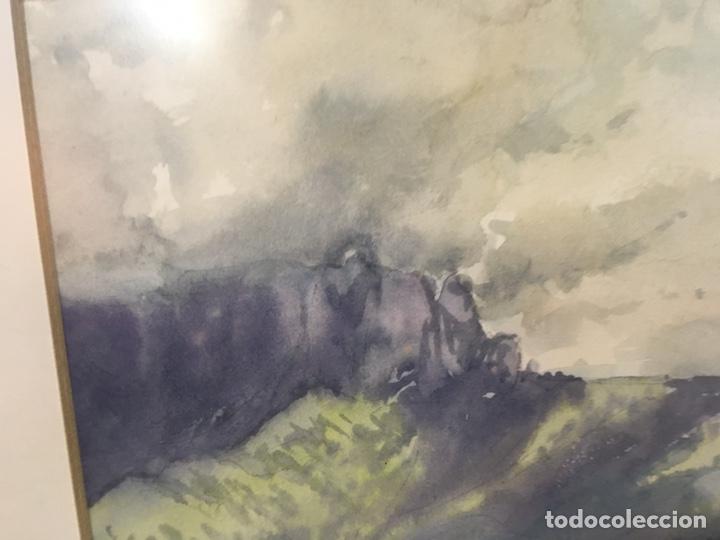 Arte: Acuarela firmada por Joan Vila Arimany - Foto 21 - 177800623