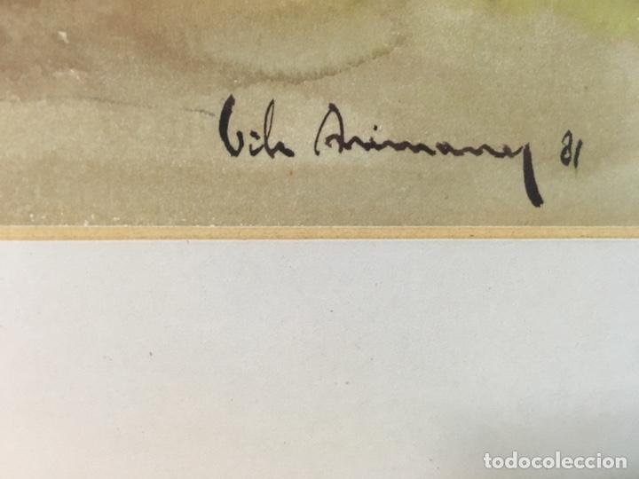 Arte: Acuarela firmada por Joan Vila Arimany - Foto 22 - 177800623