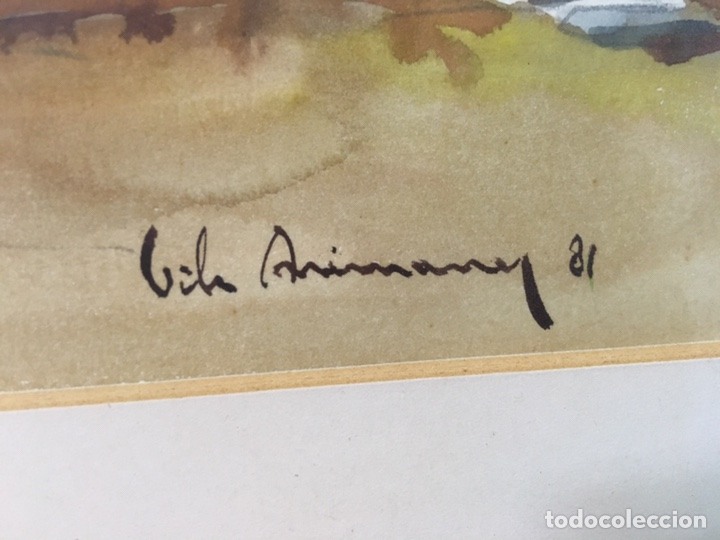 Arte: Acuarela firmada por Joan Vila Arimany - Foto 23 - 177800623