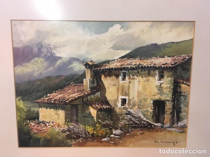 Arte: Acuarela firmada por Joan Vila Arimany - Foto 24 - 177800623