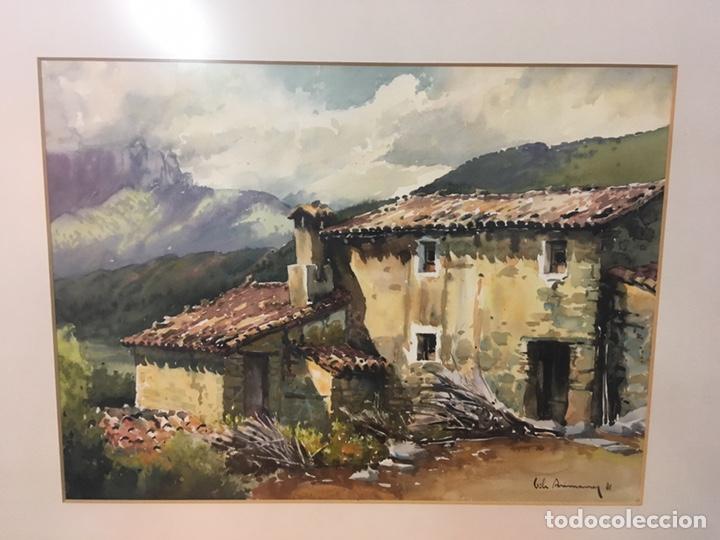 Arte: Acuarela firmada por Joan Vila Arimany - Foto 25 - 177800623
