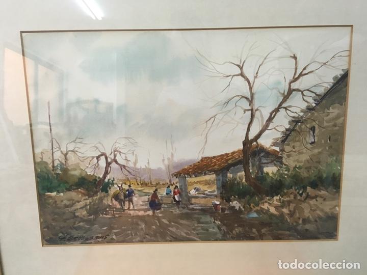 Arte: Acuarela firmada por Felipe Brugueras Pallach - Foto 3 - 177801530