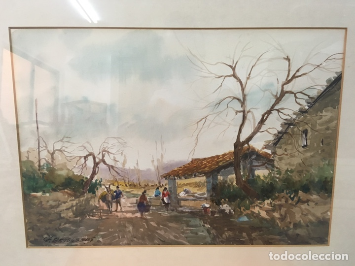 Arte: Acuarela firmada por Felipe Brugueras Pallach - Foto 4 - 177801530
