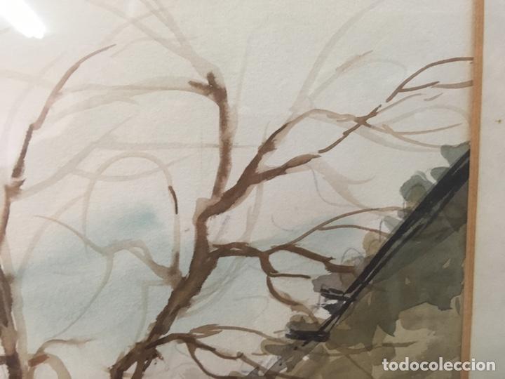 Arte: Acuarela firmada por Felipe Brugueras Pallach - Foto 5 - 177801530