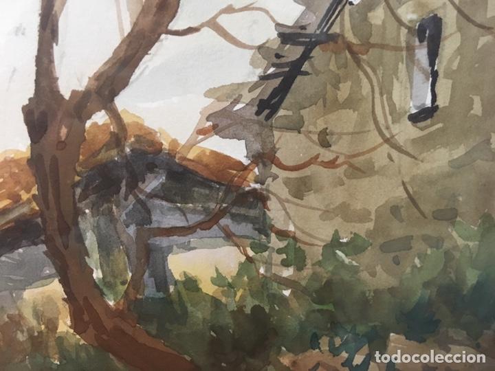 Arte: Acuarela firmada por Felipe Brugueras Pallach - Foto 7 - 177801530