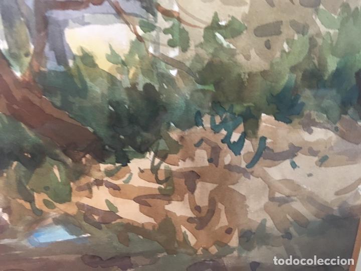 Arte: Acuarela firmada por Felipe Brugueras Pallach - Foto 8 - 177801530