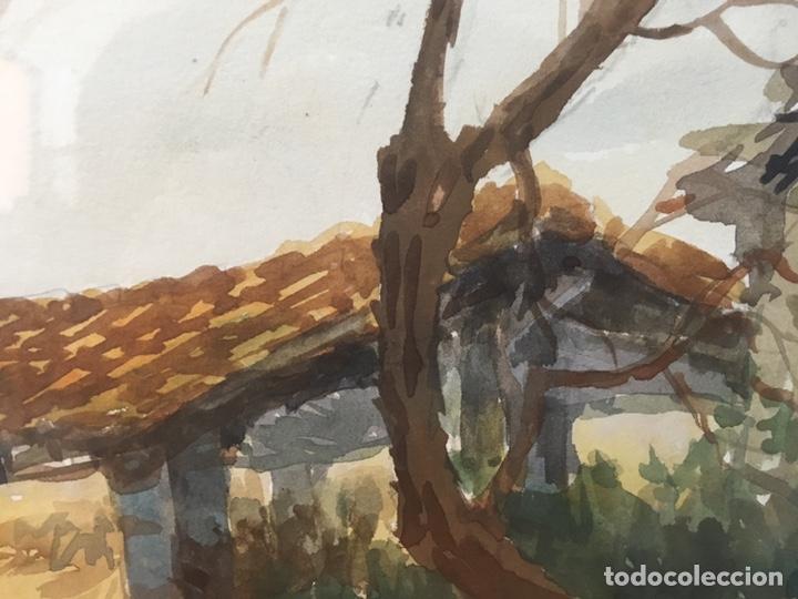 Arte: Acuarela firmada por Felipe Brugueras Pallach - Foto 9 - 177801530