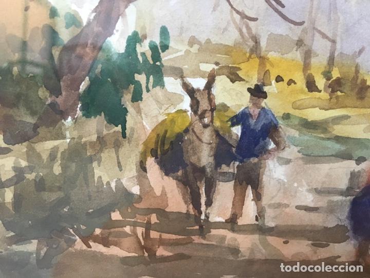 Arte: Acuarela firmada por Felipe Brugueras Pallach - Foto 12 - 177801530