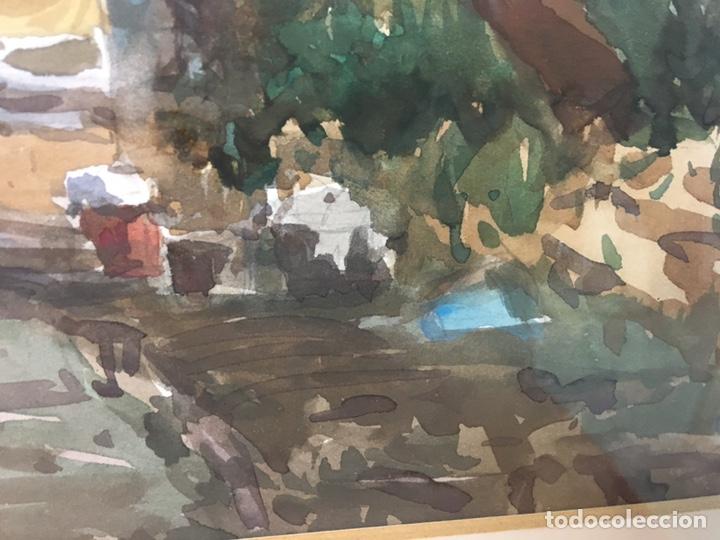Arte: Acuarela firmada por Felipe Brugueras Pallach - Foto 16 - 177801530