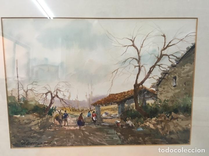 Arte: Acuarela firmada por Felipe Brugueras Pallach - Foto 18 - 177801530