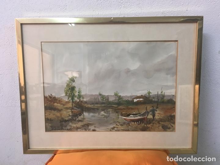 Arte: Acuarela firmada por Felipe Brugueras Pallach - Foto 2 - 177999144
