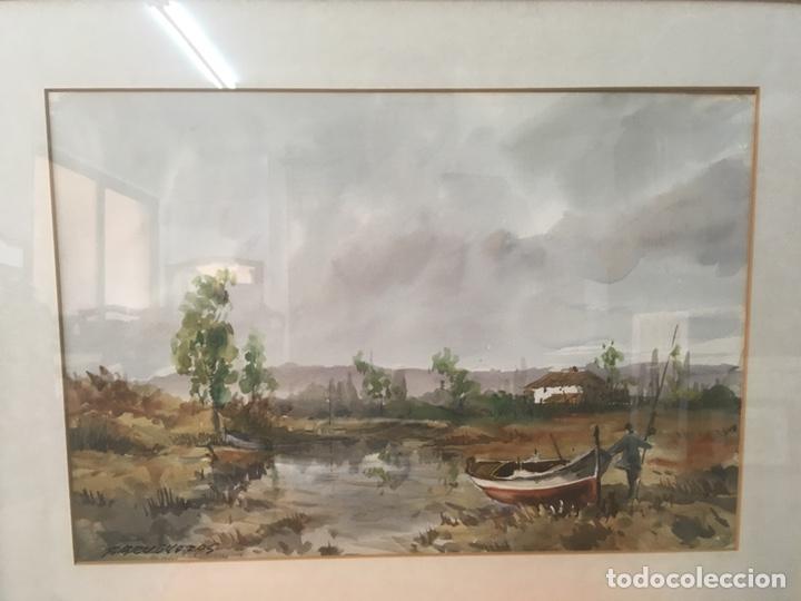 Arte: Acuarela firmada por Felipe Brugueras Pallach - Foto 3 - 177999144