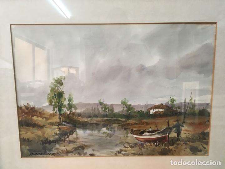 Arte: Acuarela firmada por Felipe Brugueras Pallach - Foto 5 - 177999144