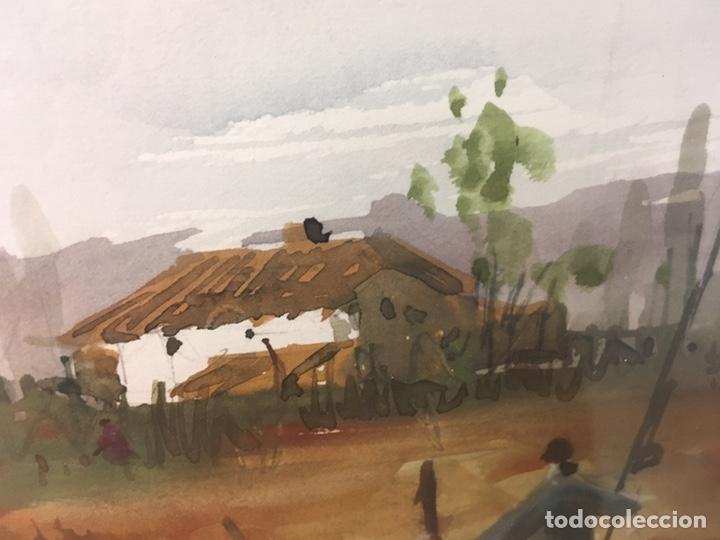 Arte: Acuarela firmada por Felipe Brugueras Pallach - Foto 6 - 177999144
