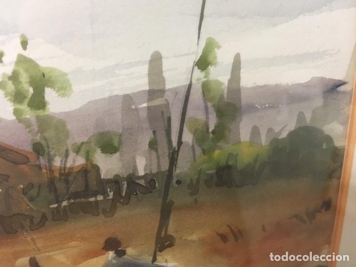Arte: Acuarela firmada por Felipe Brugueras Pallach - Foto 7 - 177999144