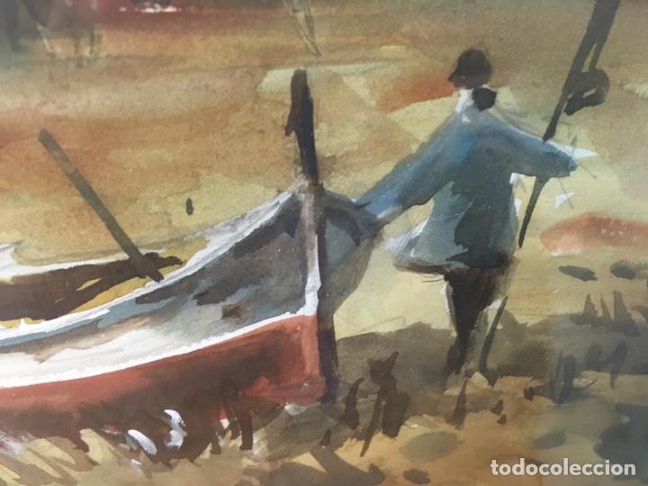 Arte: Acuarela firmada por Felipe Brugueras Pallach - Foto 8 - 177999144