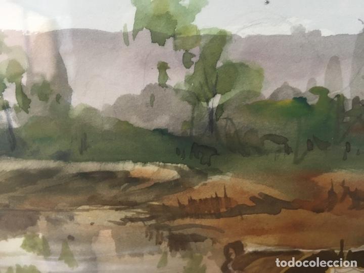 Arte: Acuarela firmada por Felipe Brugueras Pallach - Foto 10 - 177999144