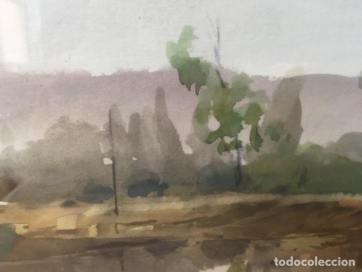 Arte: Acuarela firmada por Felipe Brugueras Pallach - Foto 12 - 177999144