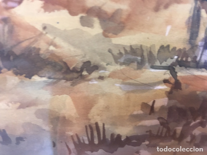 Arte: Acuarela firmada por Felipe Brugueras Pallach - Foto 16 - 177999144