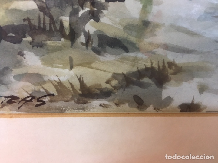 Arte: Acuarela firmada por Felipe Brugueras Pallach - Foto 18 - 177999144