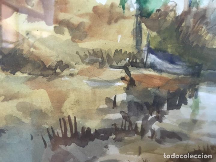 Arte: Acuarela firmada por Felipe Brugueras Pallach - Foto 21 - 177999144