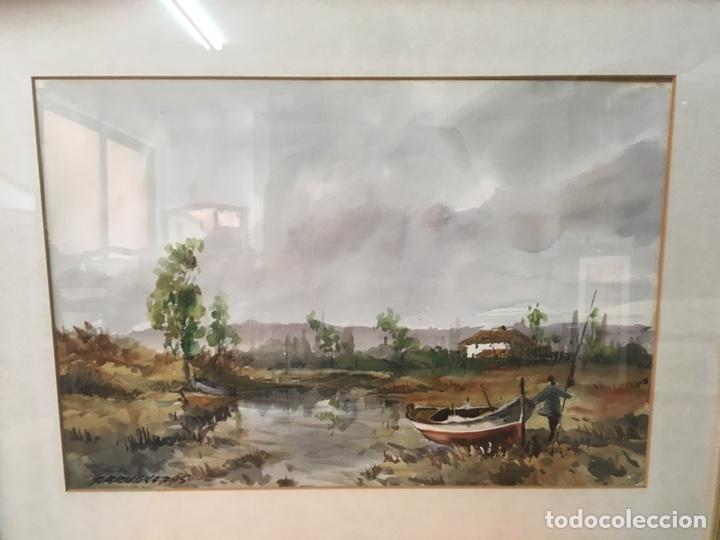 Arte: Acuarela firmada por Felipe Brugueras Pallach - Foto 22 - 177999144