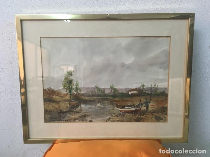 ACUARELA FIRMADA POR FELIPE BRUGUERAS PALLACH (Arte - Acuarelas - Contemporáneas siglo XX)