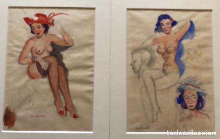 Arte: Dibujos acuarelados eroticos - Foto 4 - 178006022